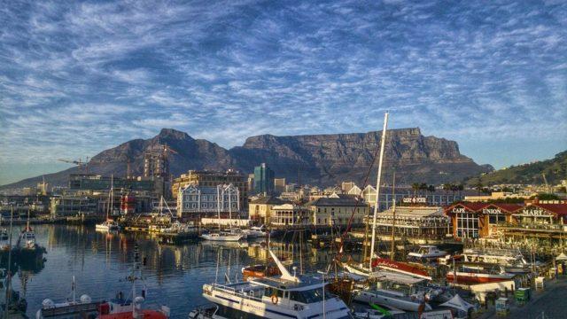 Mevrouw de Bruin Table Mountain Kaapstad Ziod-Afrika Rondreis Op Maat Specialist