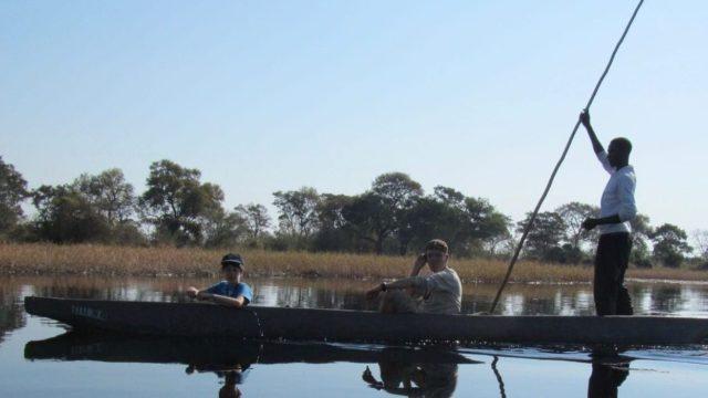 Maun mokoro - Botswana