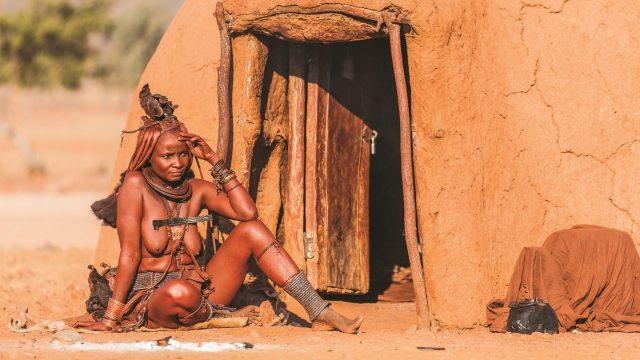 Himba Kamanjab - Namibie