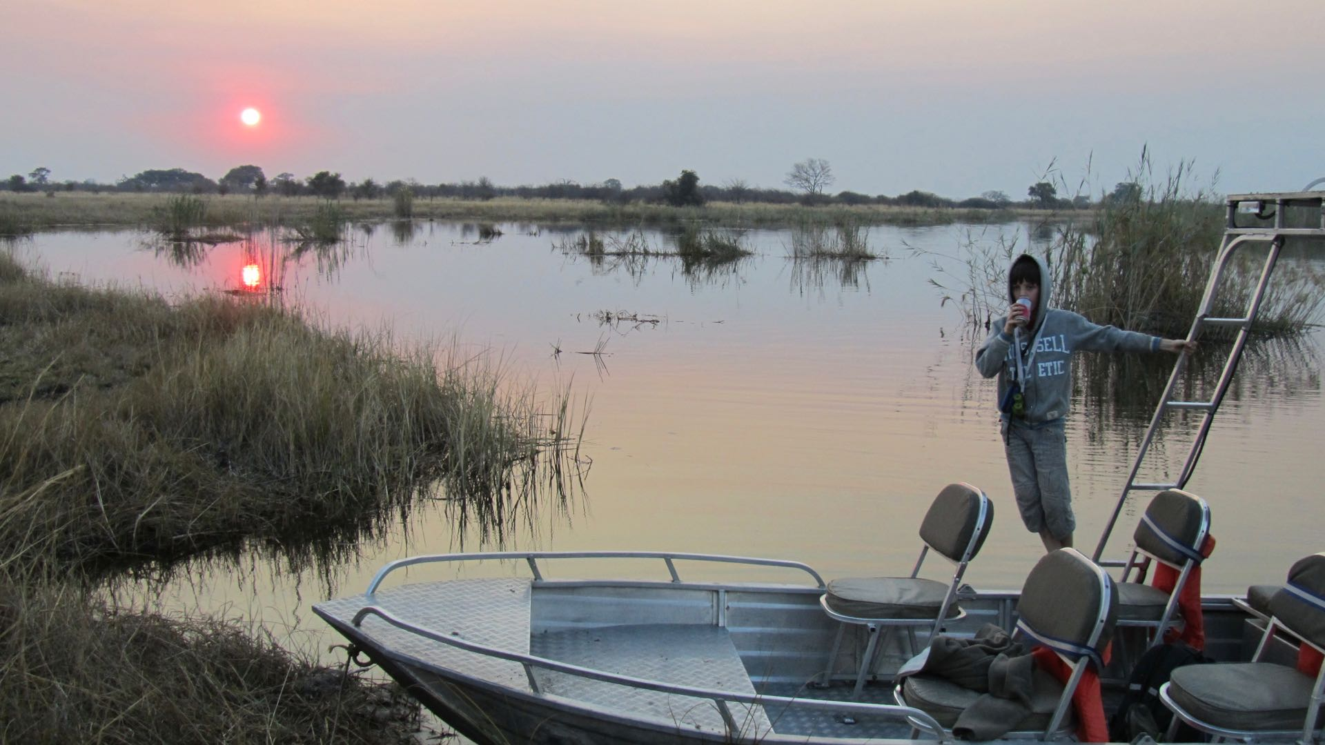 Boottocht Caprivi - Namibie