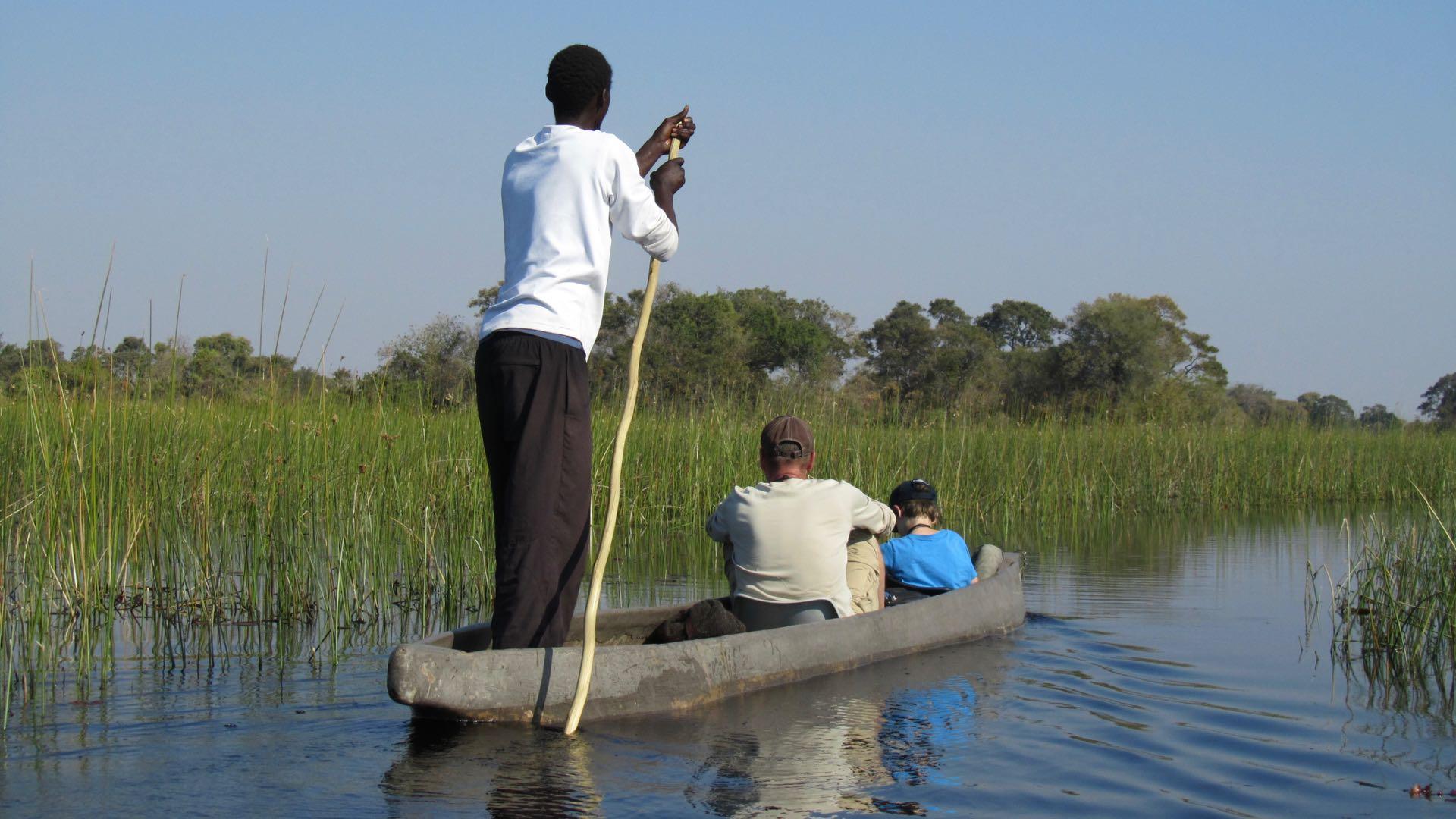 Mokoro tour Caprivi - Namibie