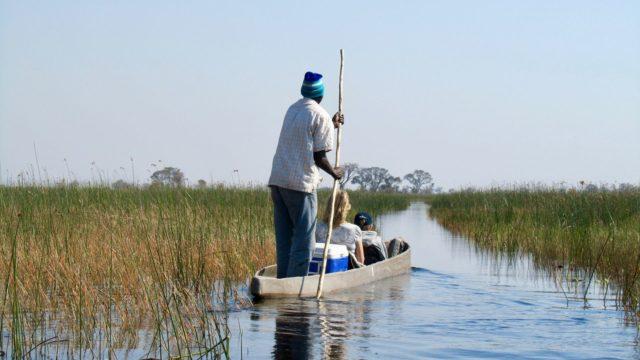 Mokoro tour - Botswana