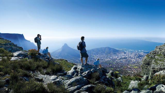 Kaapstad Tafelberg Zuid Afrika Rondreis Op Maat Specialist