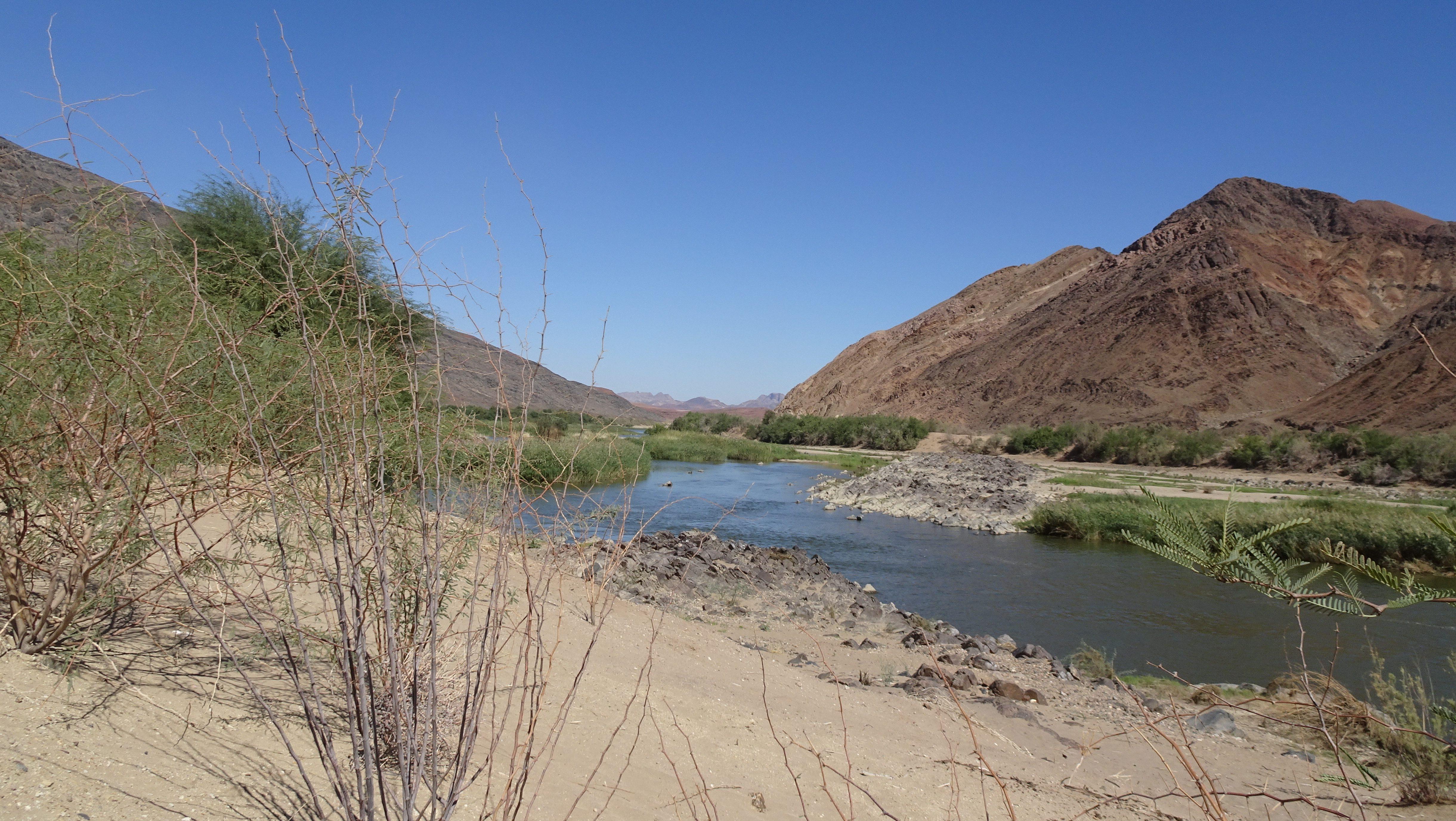 Oranjerivier - Namibie