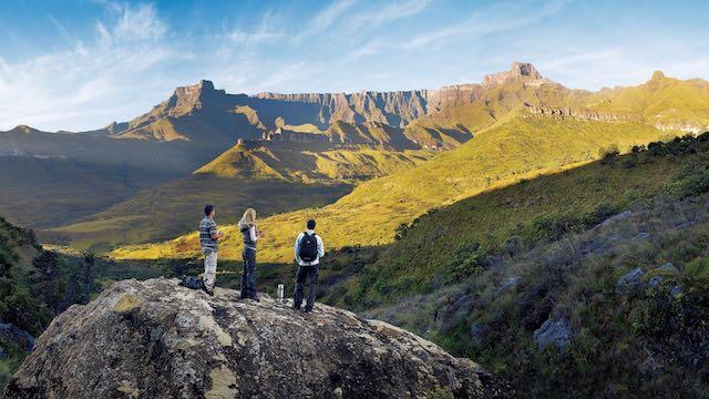 Drakensbergen Amphiteatre Zuid Afrika Rondreis Op Maat Specialist Van Johannesburg naar Kaapstad overland Rondreis Op Maat Specialist