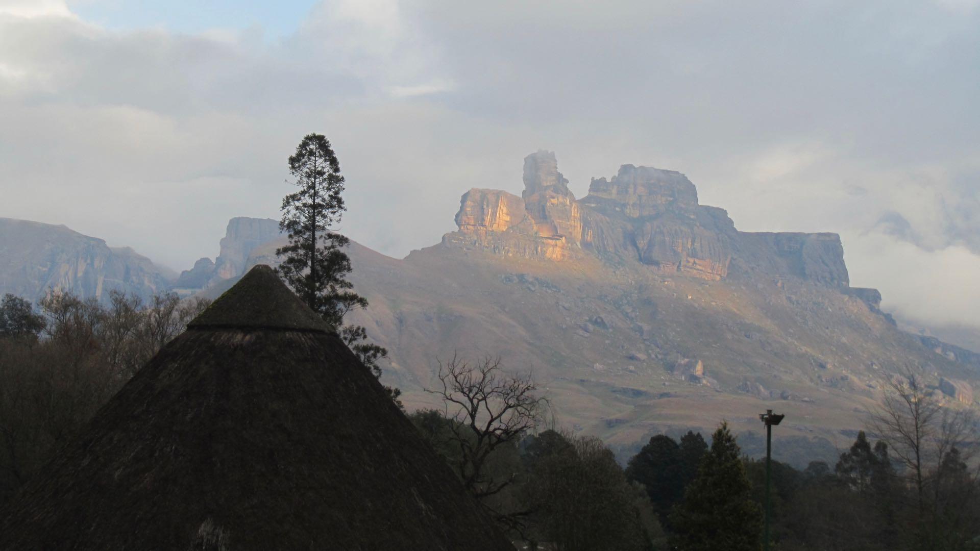 Drakensbergen ruige top Zuid-Afrika Rondreis Op Maat Specialist