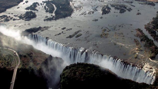 Victoria Watervallen - Zimbabwe