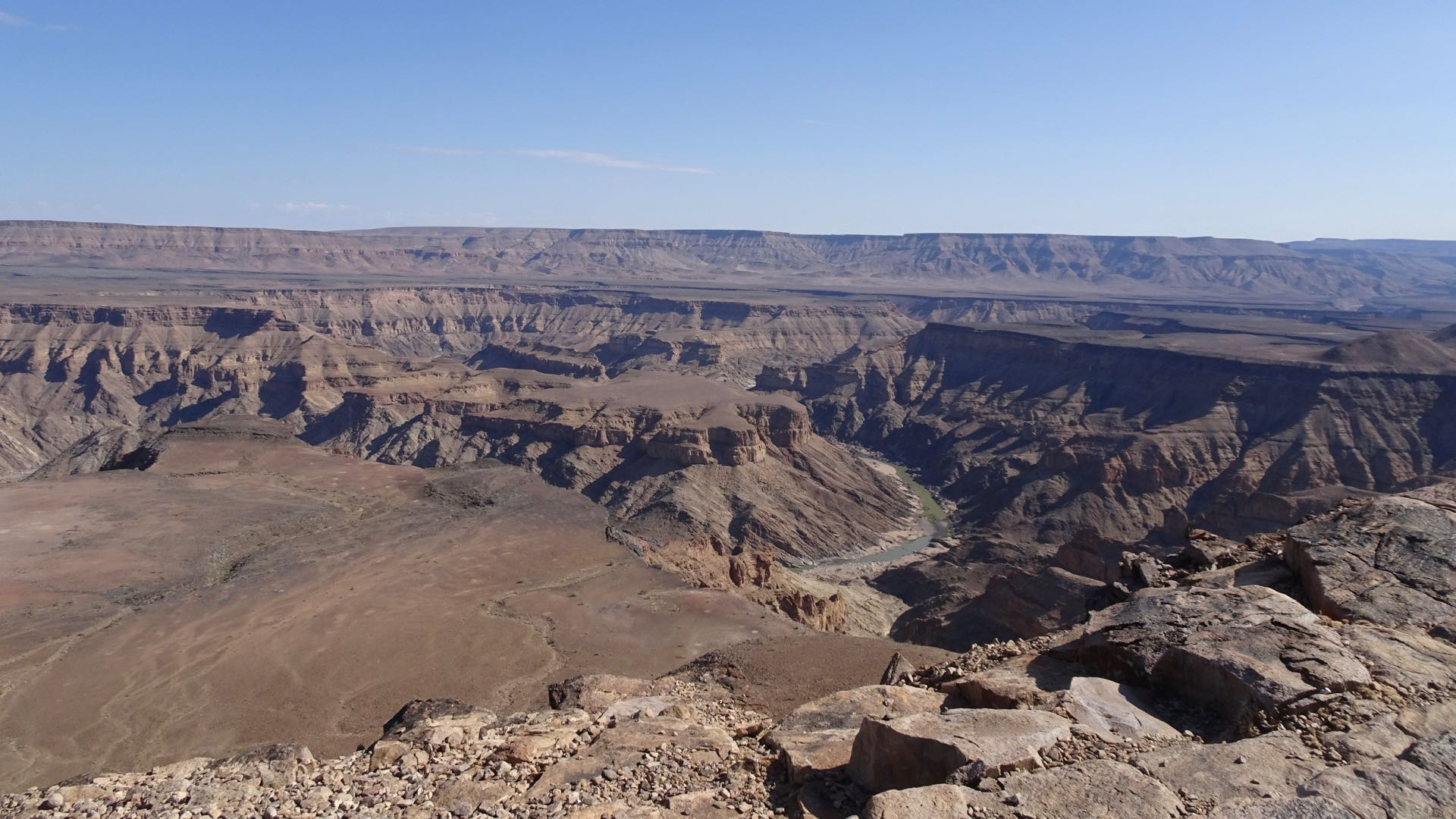 Fish River Canyon day tour - Namibie