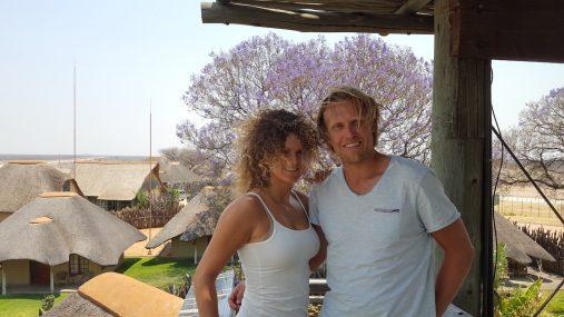 Florine Zandbergen en Martijn Groenewoud naar Namibië