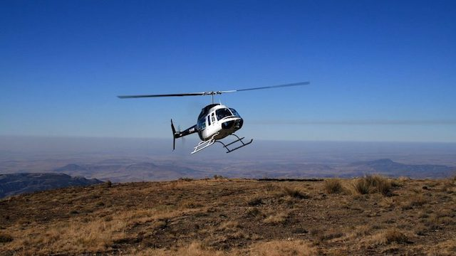 Helicopter Drakensbergen Zuid-Afika Canopy Tour Drakensbergen Zuid-Afrika Rondreis Op Maat Specialist