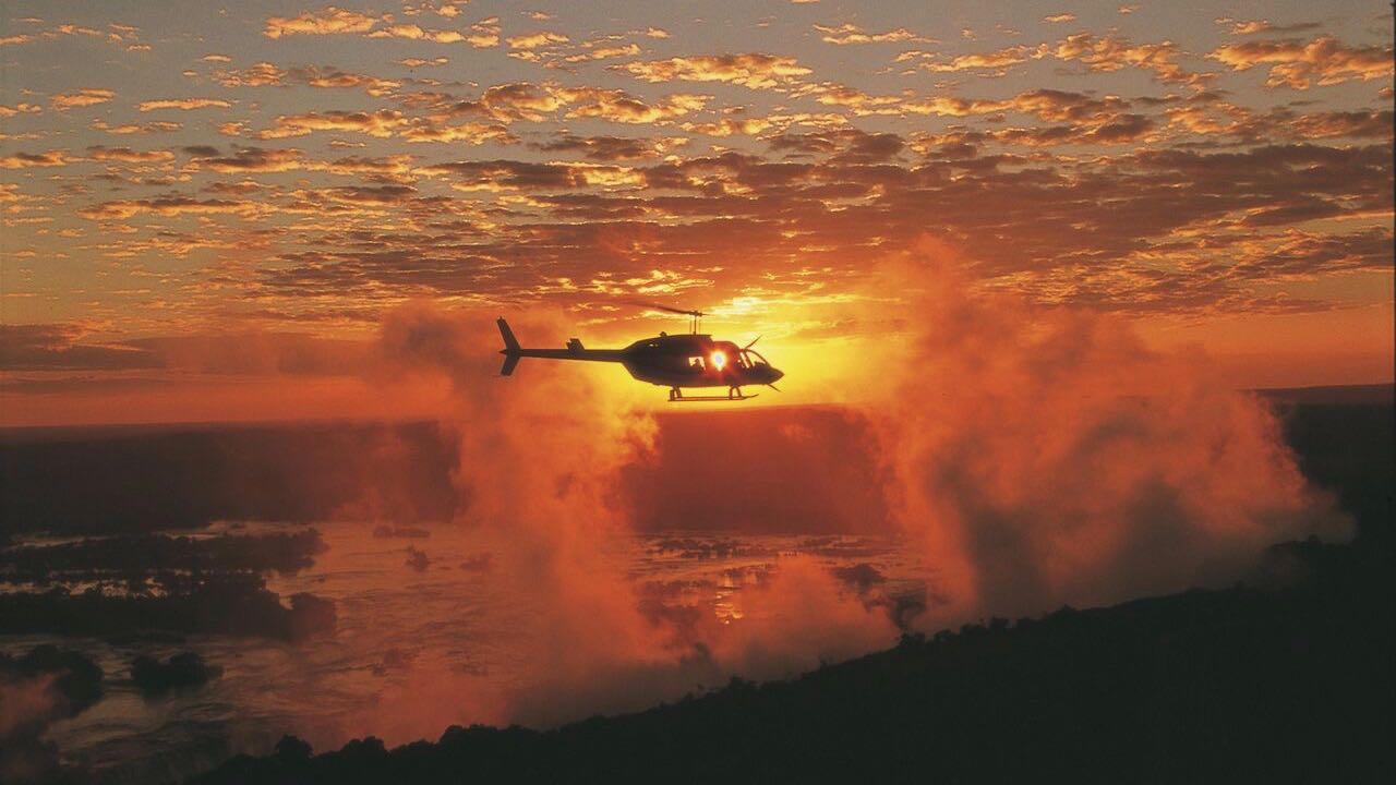 Helicoptervlucht Victoria Watervallen - Zimbabwe