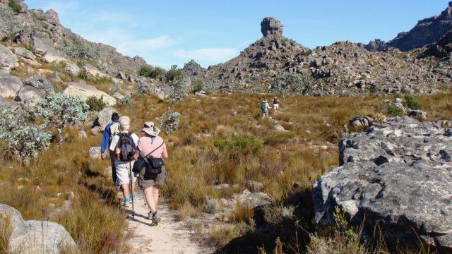 Hiking in Cederbergen West Kaap Zuid-Afrika Rondreis Op Maat Specialist