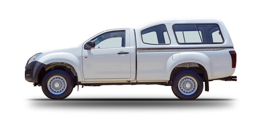 Huurauto ZA 1L Toyota 4x4 Single Cab 1024