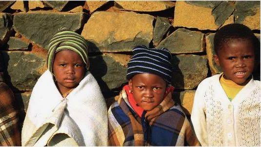 Kinderen Lesotho Rondreis Op Maat Specialist