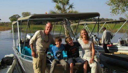 Marjan van der Herberg & familie