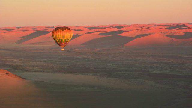 Namib Woestijn ballonvaart - Namibie