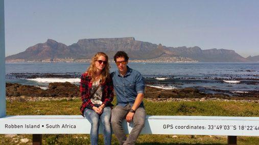 Niek en Emmily naar Zuid-Afrika
