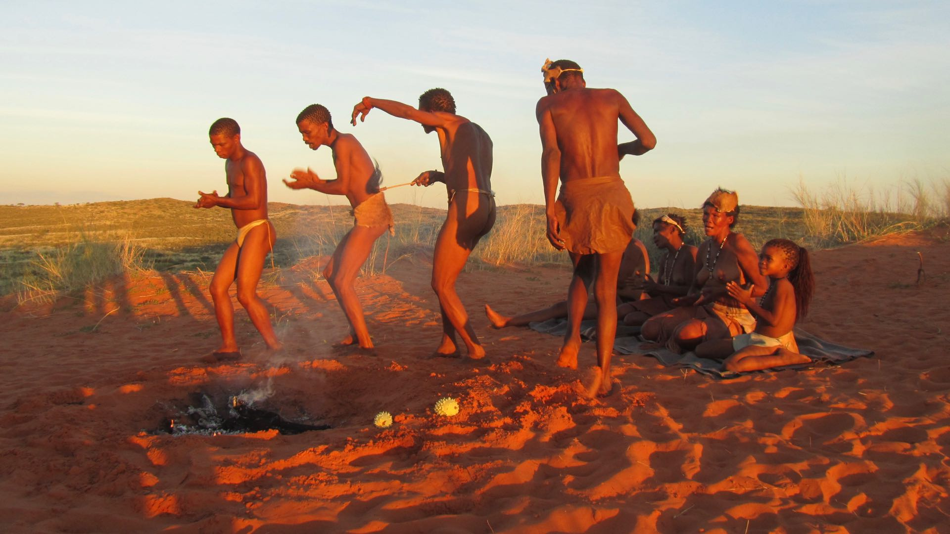 San Kalahari - Botswana
