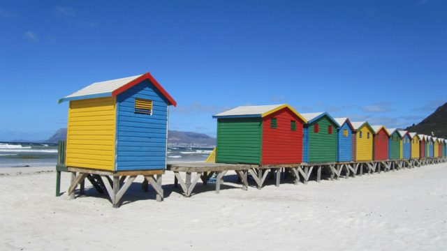 Muizenberg Zuid-Afrika Kaaps Schiereiland Rondreis Op Maat Specialist