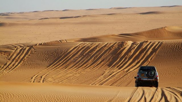 4x4 Driving course - Namibie