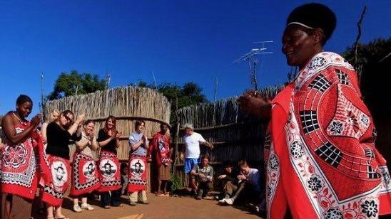 Local Chief meet Swaziland Rondreis Op Maat Specialist