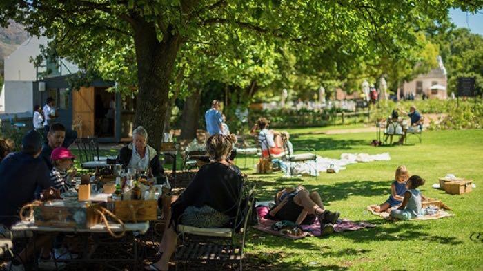 Picknick bij Boschendal Rondreis Op Maat Specialist