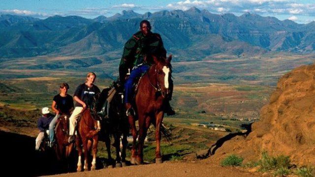Pony trektocht Lesotho Zuid_Afrika Rondeis Op Maat Specialist