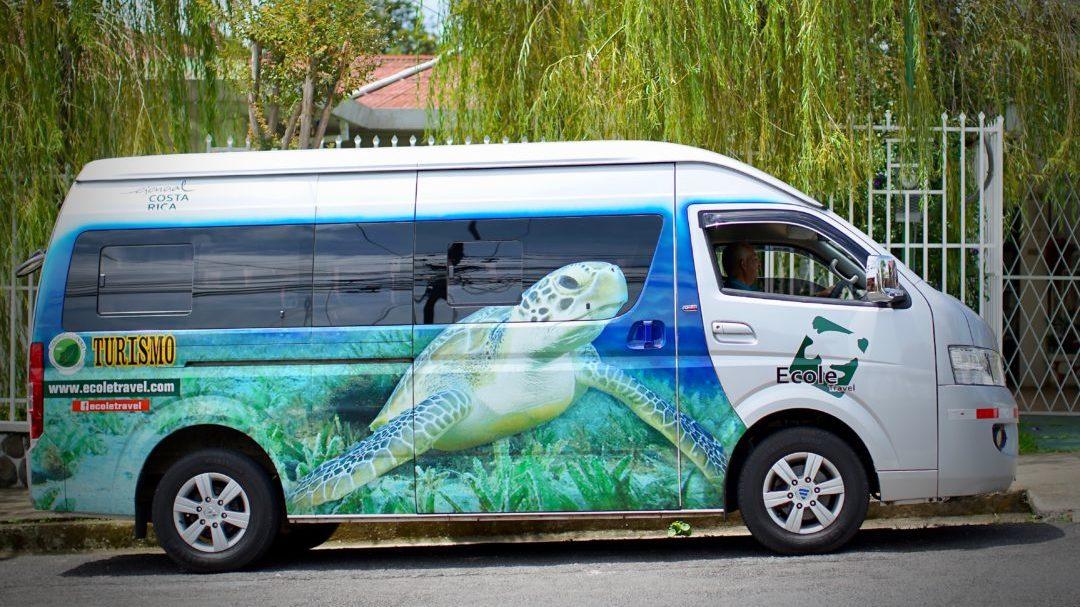 Reizen op maat Costa Rica shuttle