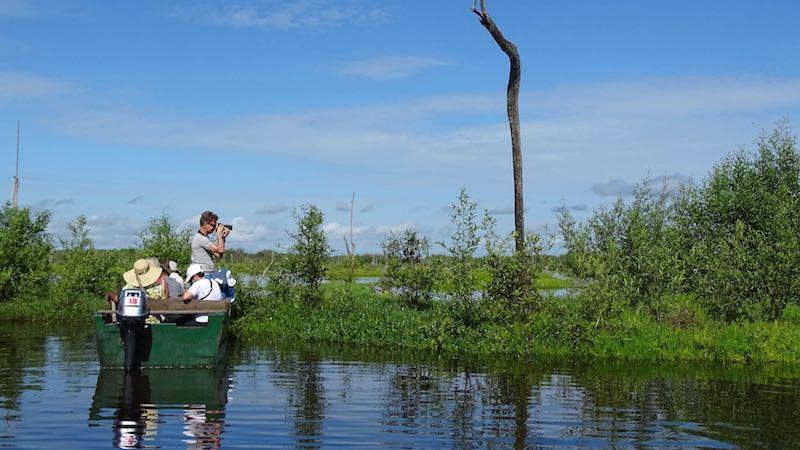 Suriname Bigi Pan bootje Rondreis Op Maat Specialist