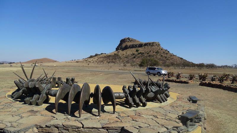 Isandlwana battlefield tour Zuid-Afrika Rondreis Op Maat Specialist