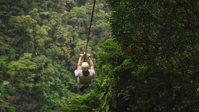 Ziplinen in Costa Rica La Fortuna Costa Rica Rondreis Op Maat Specialist