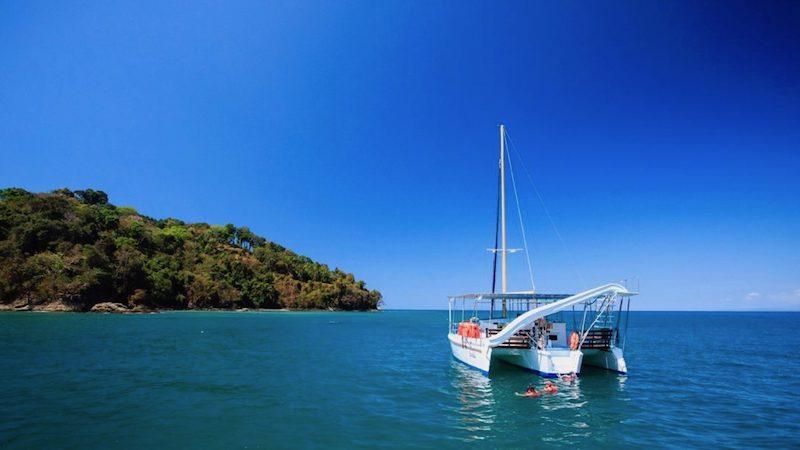 Catamaran tocht Manuel Antonio MANUEL ANTONIO Costa Rica Rondreis Op Maat Specialist