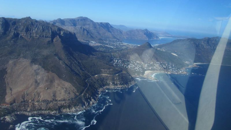 Helicoptervlucht Kaapstad Zuid-Afrika Rondreis Op Maat Specialist
