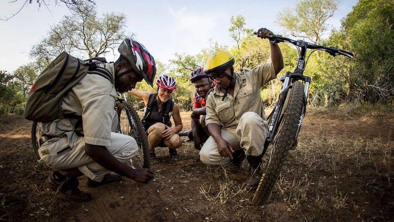 Hlane Mountain Bike Zuid-Afrika Rondreis Op Maat Specialist