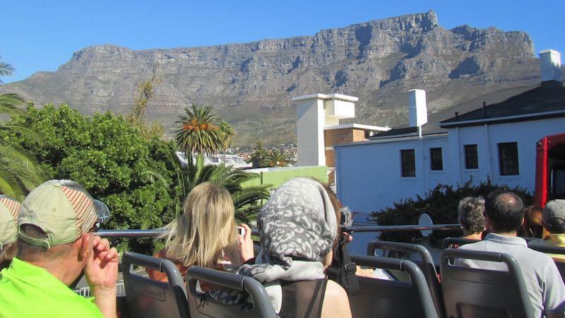 Hop on hop off city tour Kaapstad Rondreis Op Maat Specialist