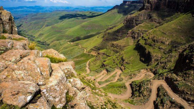 Sani Pass Lesotho Zuid-Afrika Rondreis Op Maat Specialist
