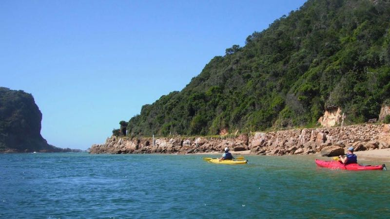 Sea Kayaking Knysna Rondreis Op Maat Specialist
