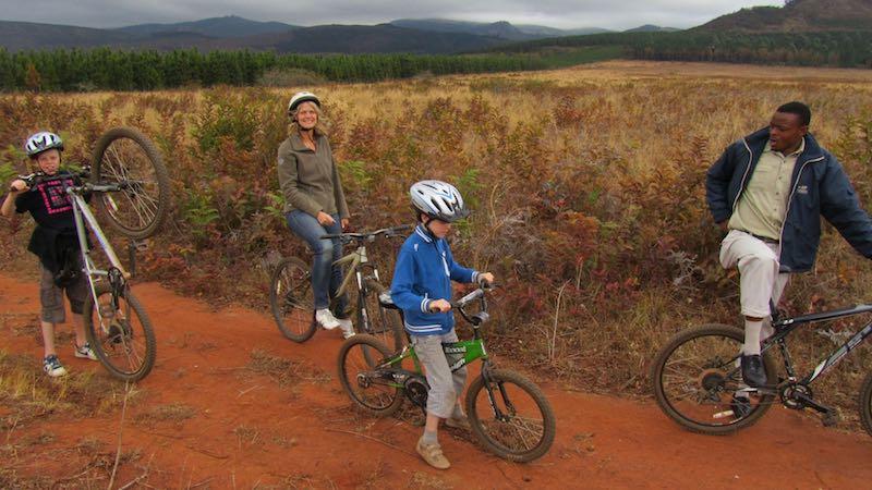 Swaziland Mlilwane fietsen Zuid-Afrika Rondreis Op Maat Specialist
