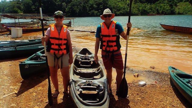 Natasja en Peter van Flier Suriname Rondreis Op Maat Specialist