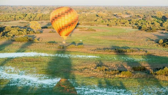 Balloon safari Okavango Delta Botswana Rondreis Op Maat Specialist