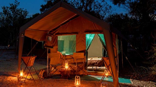 Mobile Camping Avond Botswana Rondreis Op Maat Specialist