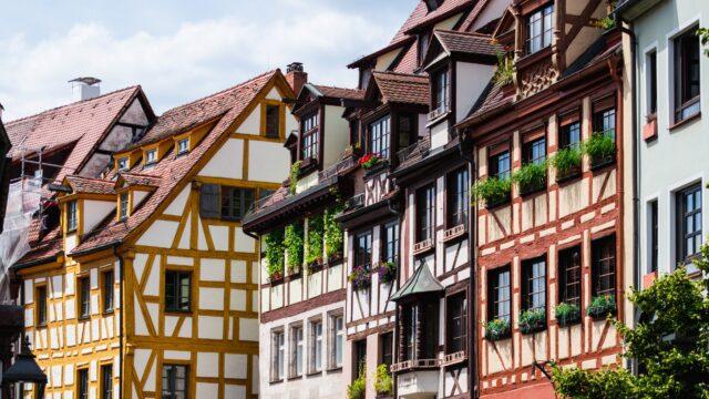 Nuremberg straat Duitsland Europa Rondreis Op Maat Specialist